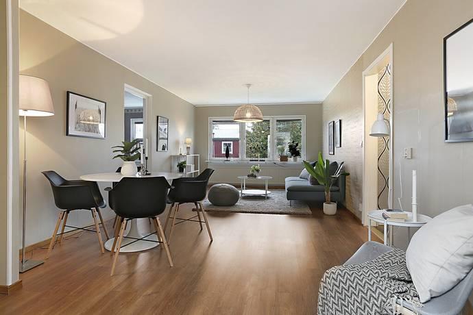 Bild: 4 rum bostadsrätt på Toppgatan 6D, Luleå kommun Västra Skurholmen