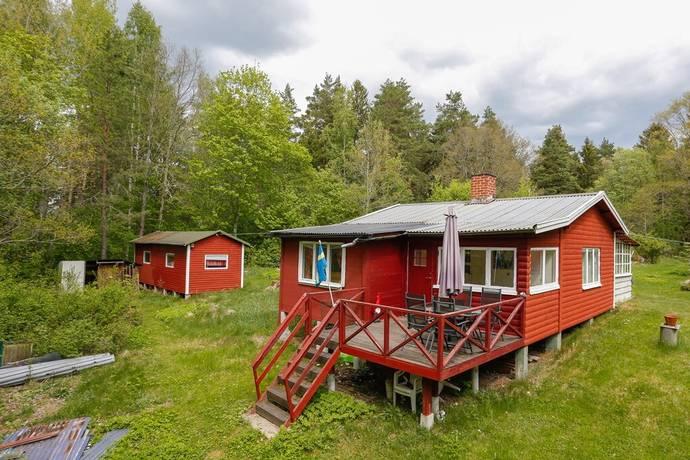 Bild: 3 rum fritidshus på Magnäs, tomt nr 9, Arboga kommun Magnäs