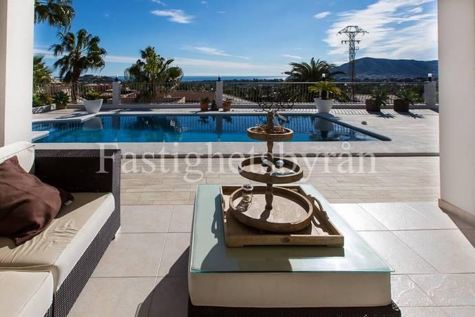 Bild: 7 rum villa på Panoramautsikt över medelhavet!, Spanien La Nucia | Costa Blanca