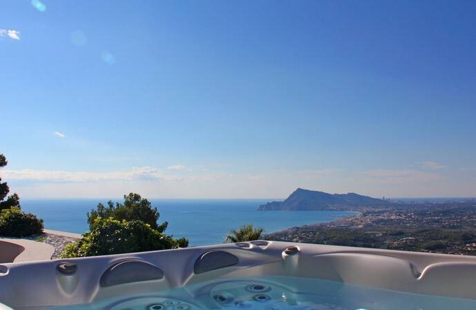 Bild: 4 rum villa på Lyxlägenheterer med havsutsikt, Spanien Altea - Alicante - Costa Blanc
