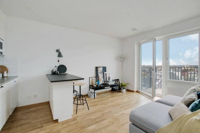 Bild: 2 rum bostadsrätt på Epistelvägen 1B, vån 10, Solna kommun Huvudsta / Västra Skogen