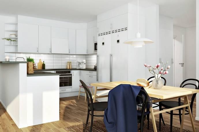 Bild: 4 rum bostadsrätt på Gösta Edströms Gata 5 A-C, Växjö kommun Teleborg