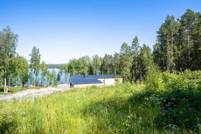 Bild: tomt på Hjelmtorpsvägen 6B, Östersunds kommun Frösön