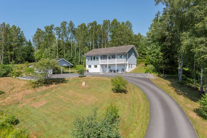 Bild: 6 rum villa på Balltjärnsvägen 16, Marks kommun Hyssna