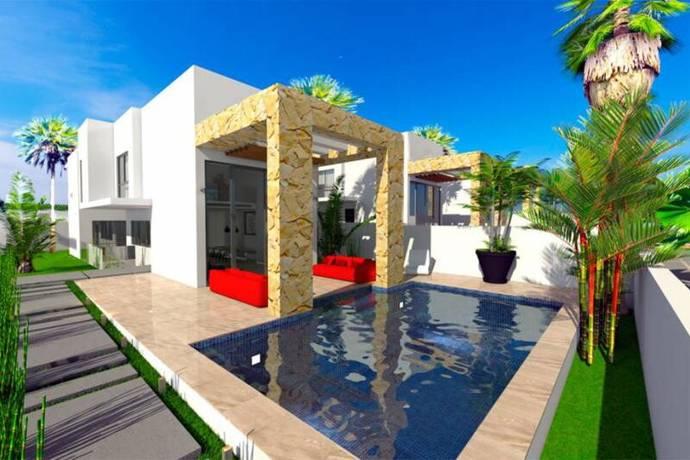 Bild: 5 rum villa på Fristående villa med privat pool och havsutsi, Spanien La Mata-Torrevieja- Costa Blan