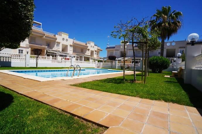 Bild: 3 rum radhus på Trädgård & Pool - 1km till strand, Spanien Hörn Radhus i Aguas Nuevas