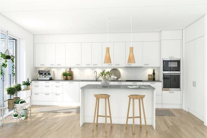 Bild: 4 rum bostadsrätt på Sonja Kovalevskys Gata 2, Stockholms kommun Hagastaden