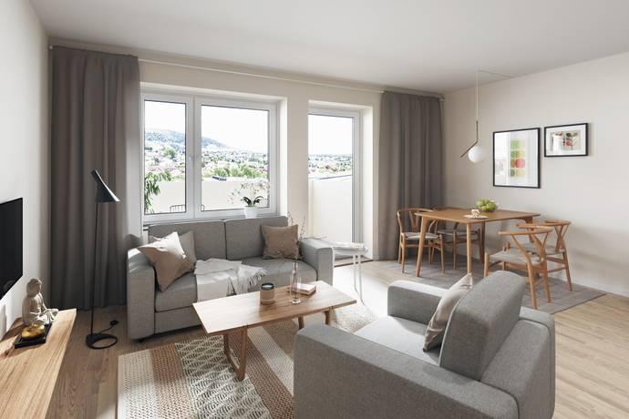 Bild: 2 rum bostadsrätt på Kobbeslätten, Göteborgs kommun Askim