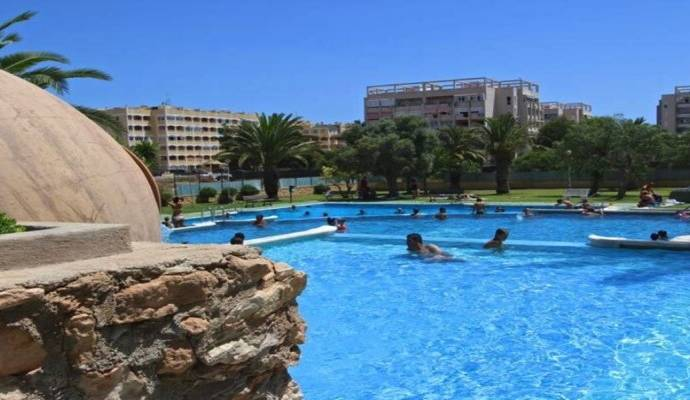 Bild: 4 rum radhus på Stor pool, Trädgård, 2 Terrasser, Spanien Hörn Duplex La Mata