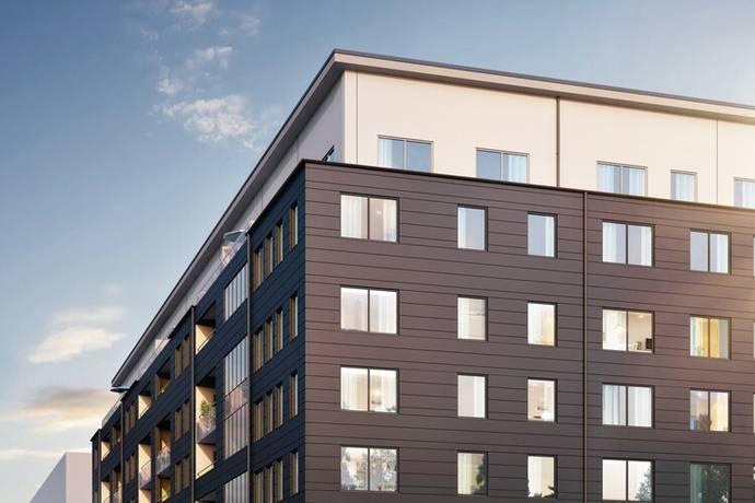 Bild: 4 rum bostadsrätt på Virkesvägen 9G, Stockholms kommun Hammarby Sjöstad