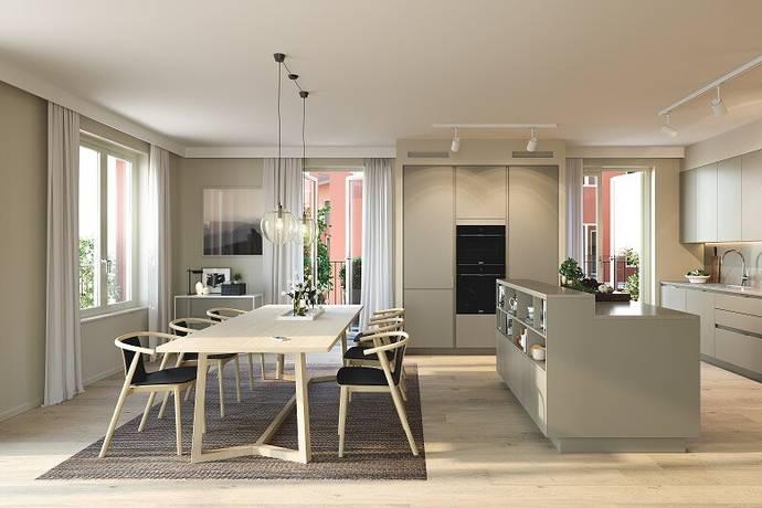 Bild: 4 rum bostadsrätt på Melodislingan 22, Stockholms kommun Östermalm