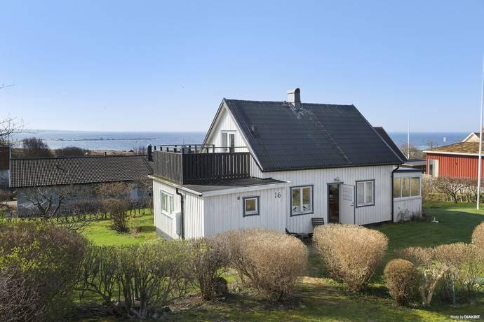 Bild: 6 rum fritidshus på Laxavägen 16, Halmstads kommun Haverdal
