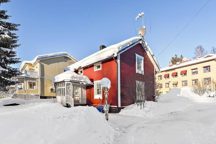 Bild: 3 rum villa på Fluxenvägen 25, Älvsbyns kommun Centralt