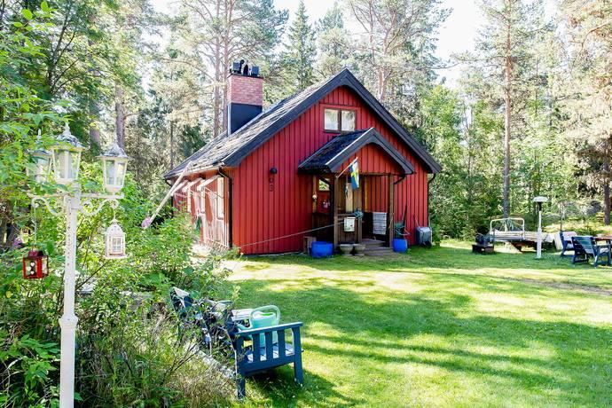 Bild: 3 rum fritidshus på Getskäret 122, Robertsfors kommun Dalkarlså