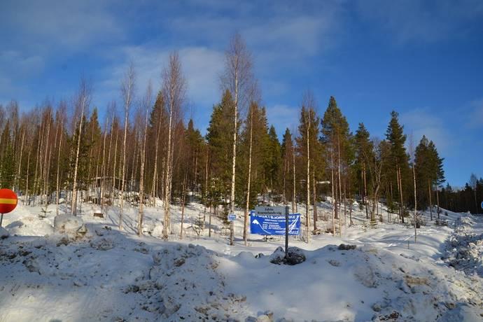 Bild: tomt på Björnrike Edvin Kvarnelands Väg 25, Härjedalens kommun Björnrike