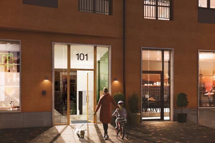 Bild: 3 rum bostadsrätt på Råsundavägen 101 C, Solna kommun Råsunda