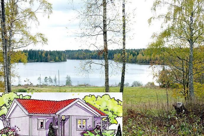Bild: tomt på Hisshult, Växjö kommun Hisshult Lammhult Småland