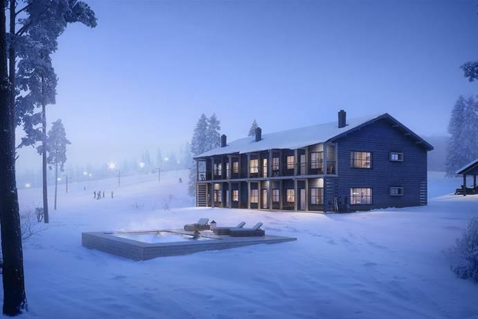 Bild från Exklusiv nyproduktion! Lodge 872 - Panorama & Pool med Ski in/Ski out läge, Idre Himmelfjäll!