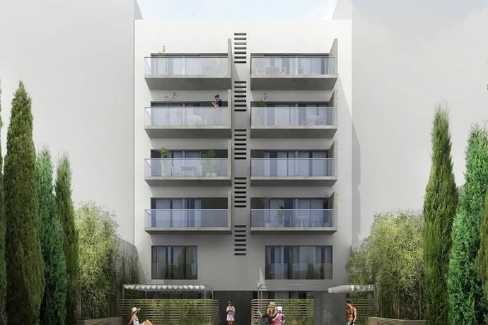 Bild: 3 rum bostadsrätt på UTEPLATS-POOL-NYPRODUKTION- Eixample, Ref 2834, Spanien Eixample