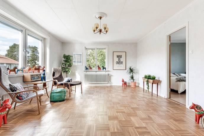 Bild: 2 rum bostadsrätt på Norra Ersmarksgatan 61, Umeå kommun Haga