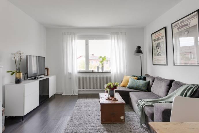 Bild: 2 rum bostadsrätt på Norrtäljegatan 34, Uppsala kommun Fålhagen