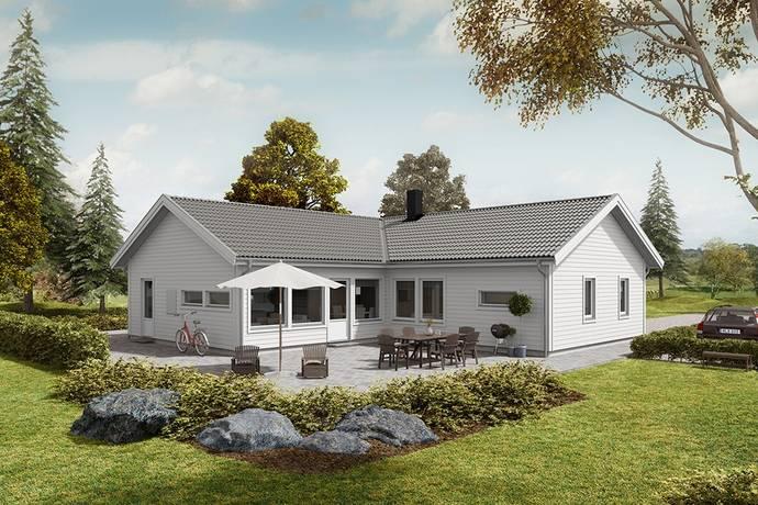Bild: 5 rum villa på Kvarngatan 26e, Höörs kommun