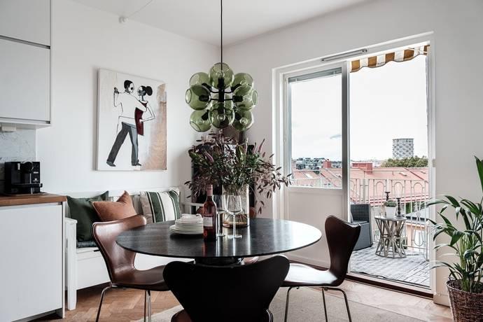 Bild: 2 rum bostadsrätt på Erik Dahlbergsgatan 41-43, Stockholms kommun Östermalm / Gärdet