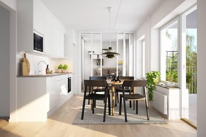 Bild: 1 rum bostadsrätt på Munspelsgatan, Göteborgs kommun Frölunda