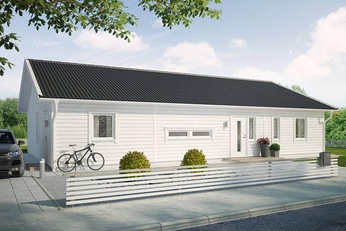 Bild: 6 rum villa på Brostorpsgatan 2, Kinda kommun