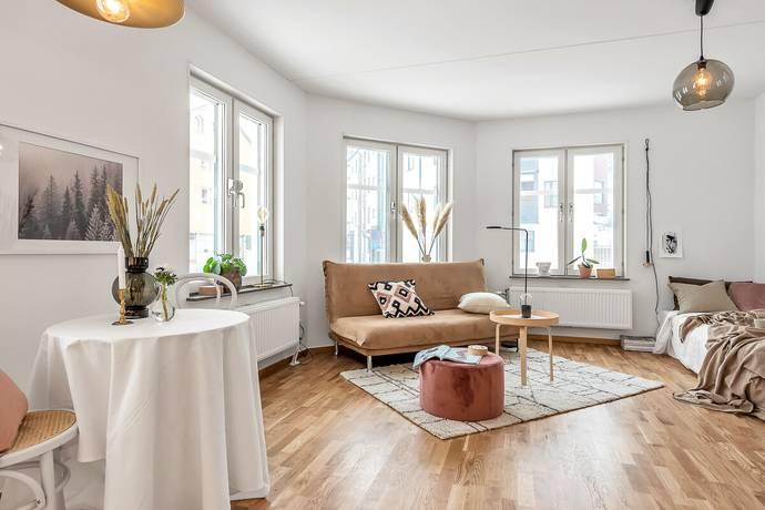 Bild: 1 rum bostadsrätt på Roslagsgatan 27B, Norrtälje kommun Norrtälje Centrum