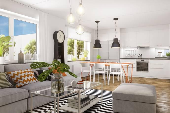 Bild: 4 rum bostadsrätt på Råbyvägen 57 A, Uppsala kommun Gränby