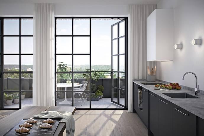 Bild: 3 rum bostadsrätt på Tre Kronors Väg 35, Nacka kommun Kvarnholmen