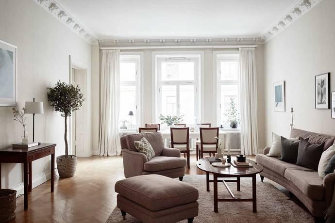 Bild: 4 rum bostadsrätt på Banérgatan 7, Stockholms kommun Östermalm
