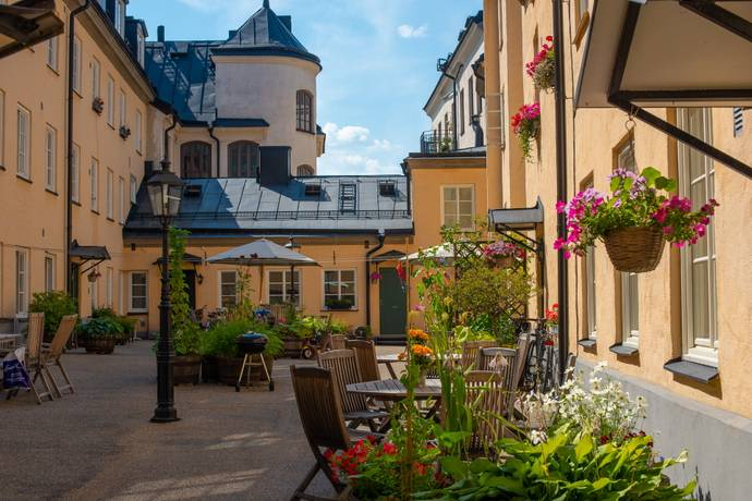 Bild: 2 rum bostadsrätt på Maria Prästgårdsgata 2A, eget gårdshus, Stockholms kommun Södermalm Maria
