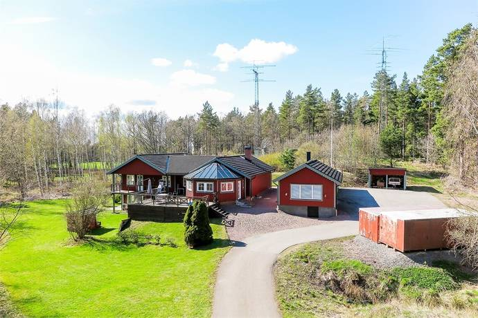Bild: 7 rum villa på Fridhem 104, Mönsterås kommun