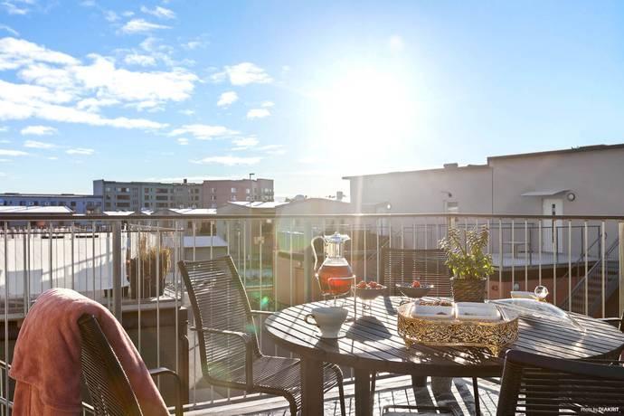 Bild: 2 rum bostadsrätt på Opalvägen 23, Uppsala kommun Herrhagen