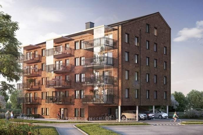 Bild: 2 rum bostadsrätt på Narvgatan 5, lgh 1202, Simrishamns kommun Skansenområdet Simrishamn
