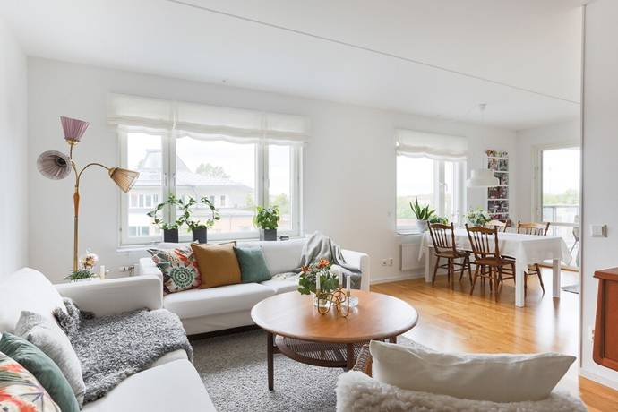Bild: 3 rum bostadsrätt på Torngatan 28, Uppsala kommun Kapellgärdet