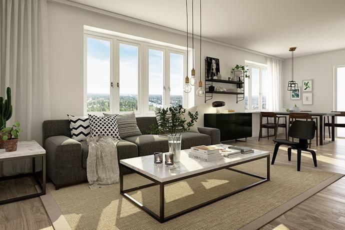 Bild: 2 rum bostadsrätt på Kvarnvägen 38C, 5TR, Järfälla kommun Jakobsberg