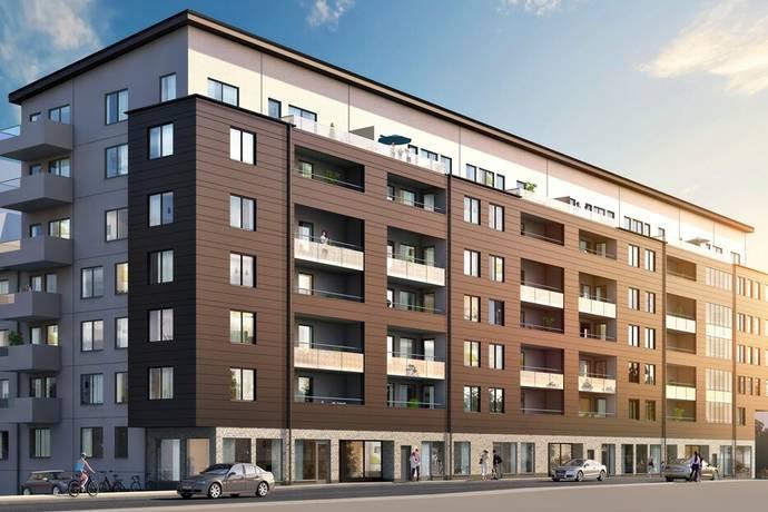 Bild: 1 rum bostadsrätt på Virkesvägen 9G, Stockholms kommun Hammarby Sjöstad