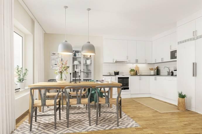 Bild: 1 rum bostadsrätt på Optimusvägen 4, Upplands Väsby kommun Centrala Väsby