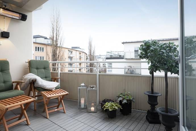 Bild: 4 rum bostadsrätt på Starrängsringen 45, 4 tr, Stockholms kommun Östermalm / Nedre Gärdet