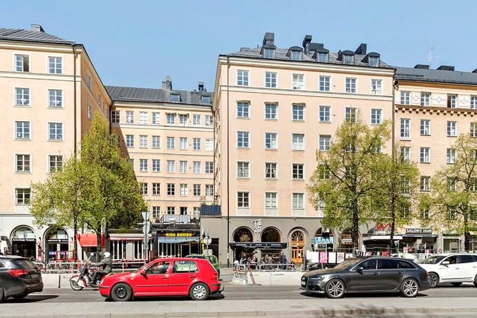 Bild: 1 rum bostadsrätt på Ringvägen 127, 3 tr, Stockholms kommun Södermalm Katarina