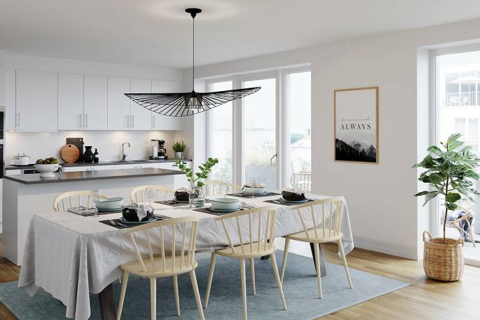 Bild: 3 rum bostadsrätt på Sveagatan/Godsgatan/Rodgagatan , Norrköpings kommun Centralt, resecentrum