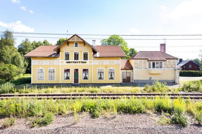 Bild: 8 rum villa på Järnvägsgatan 2, Hällefors kommun Grythyttan