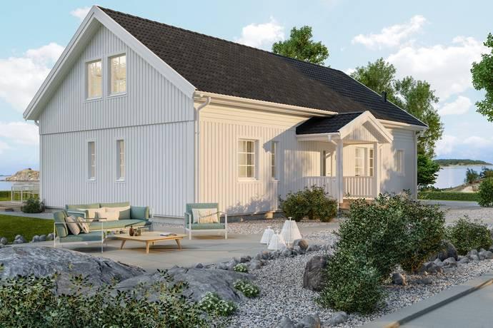 Bild: 107 m² villa på Vråkstigen 1, Norrtälje kommun