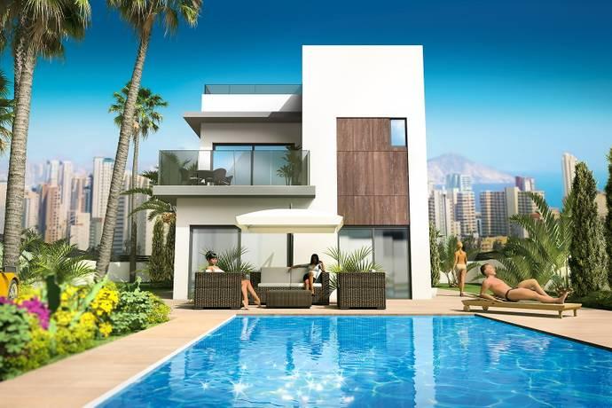 Bild: 3 rum villa på Underbara nybyggda villor med pool vid Medelhavet!, Spanien Centrum