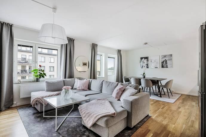 Bild: 2 rum bostadsrätt på Fridensborgsvägen 150, 5tr, Solna kommun Solna Järvastaden