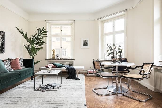 Bild: 2 rum bostadsrätt på Birger Jarlsgatan 103 B, 3tr, Stockholms kommun Vasastan - Östermalm
