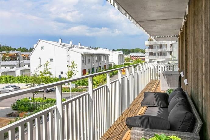 Bild: 3 rum bostadsrätt på Lobeliavägen 3, Nacka kommun Älta Hedvigslund